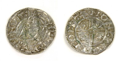 Lot 11-Coins, Great Britain, Cnut (1016-1035)
