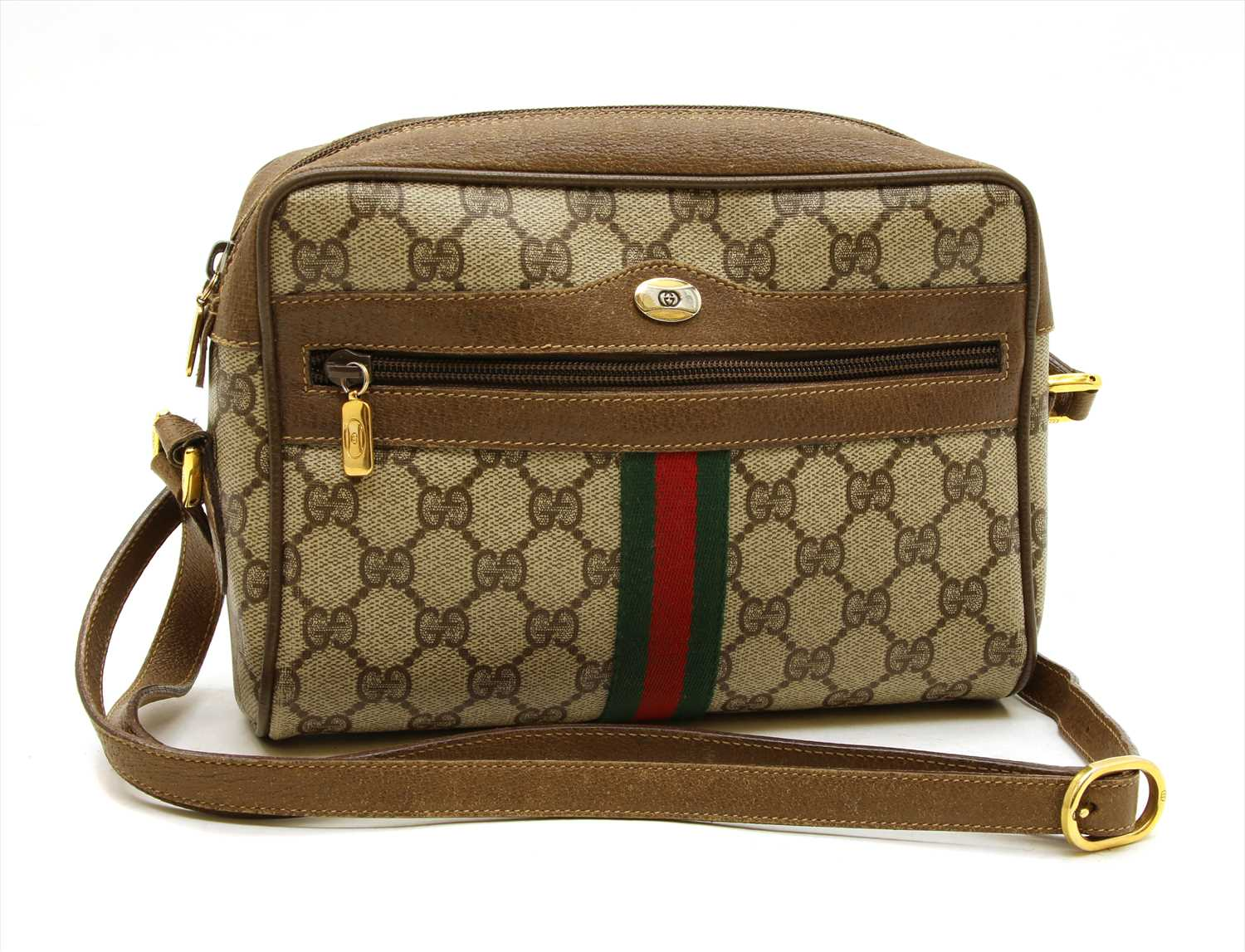 Lot 1000-A vintage Gucci 'Accessory Collection' cross body bag