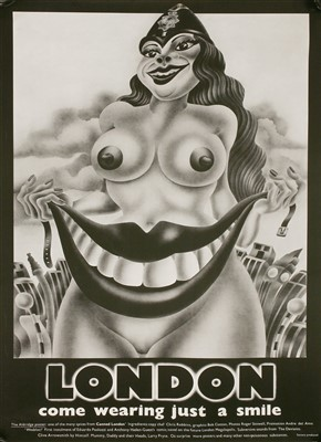 Lot 34-'LONDON - Come Wearing Just a Smile'