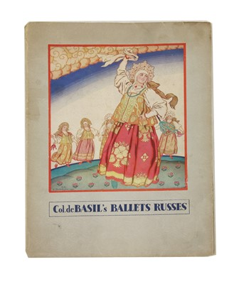 Lot 41-BALLETS RUSSES - ROYAL OPERA HOUSE COVENT GARDEN 1936