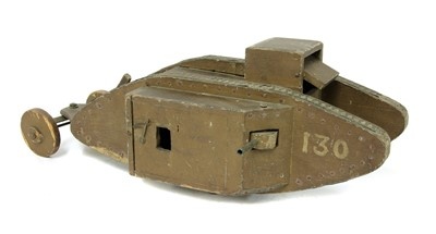 Lot 2-WW1 MARK VI 130 'NELSON' TANK BANK MODEL