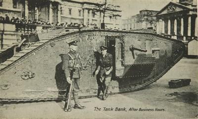 Lot 2-WW1 MARK VI 130 'NELSON' TANK BANK MODEL