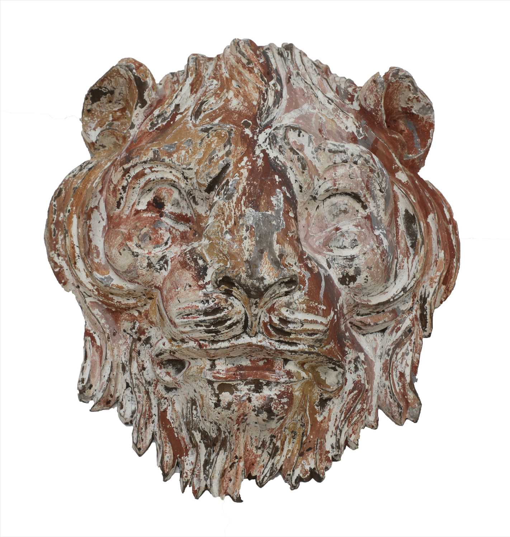 Lot 9-FAIRGROUND TIGER HEAD MASK