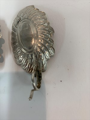Lot 22-A George III silver caddy spoon