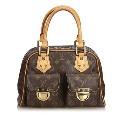 Lot 676 - A Louis Vuitton monogrammed Manhattan PM bag