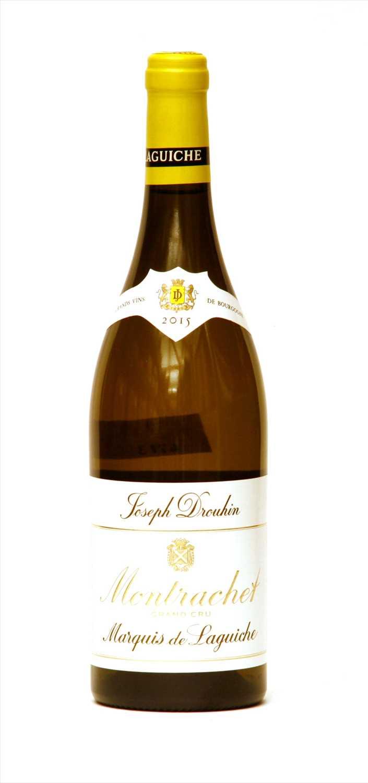 Lot 7-Joseph Drouhin, Marquis de Laguiche, Montrachet Grand Cru, 2015, one bottle