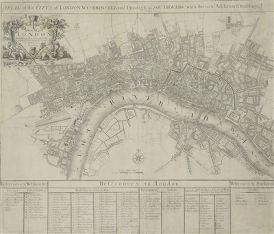 Lot 20-JOHN SENEX MAP OF LONDON