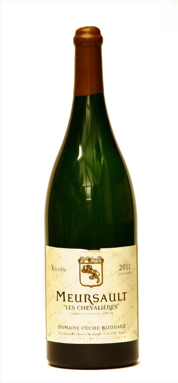 Lot 19-Domaine Coche-Bizouard, Meursault, Les Chevalières, 2011, one three litre bottle (owc)