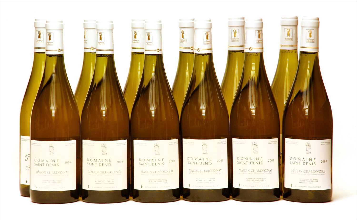 Lot 20-Domaine Saint Denis, Mâcon Chardonnay, 2009, twelve bottles (boxed)