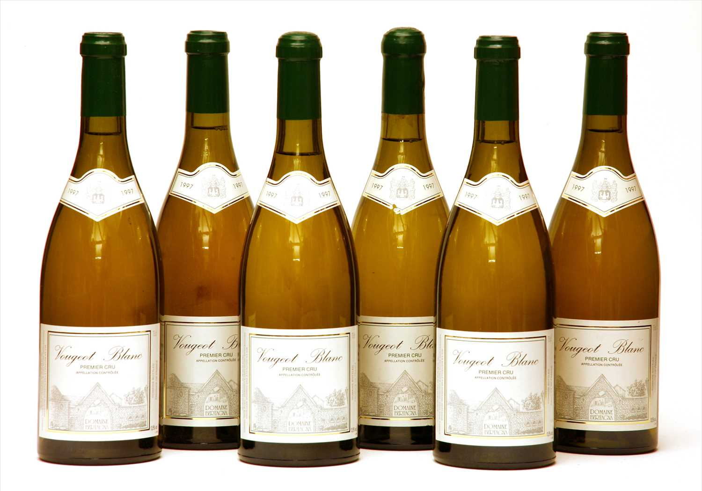 Lot 23-Domaine Bertagna, Vougeot Blanc, 1997, six bottles (boxed)
