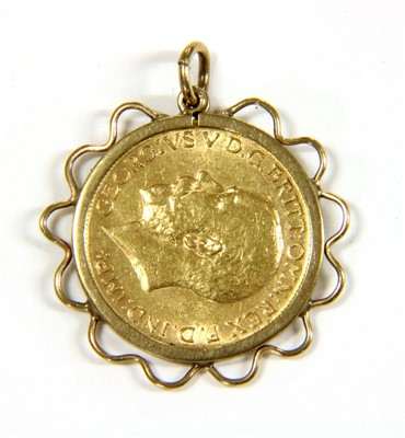 Lot 1012-A 1913 sovereign