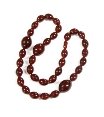 Lot 16-A Bakelite necklace