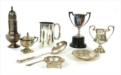 Lot 30-Silver items