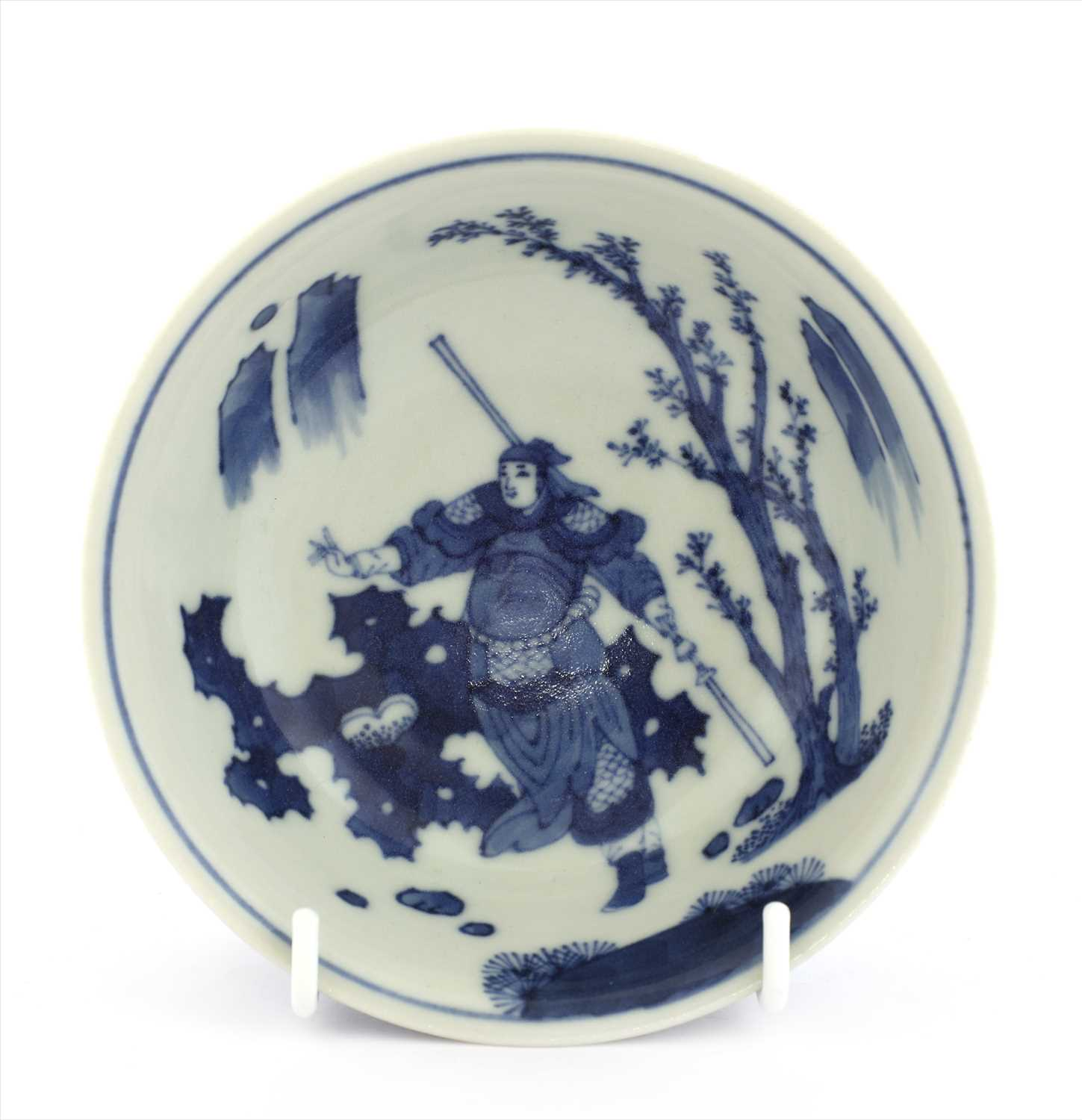 Lot 4-A Chinese blue and white bowl
