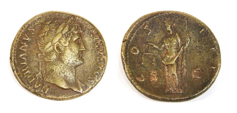 Lot 1-Coins, Roman, Hadrian (117-138)