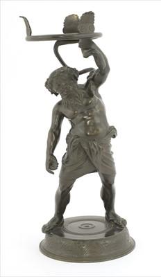 Lot 38-A Grand Tour-type bronze figure