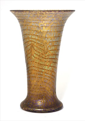Lot 84 - A Loetz iridescent vase