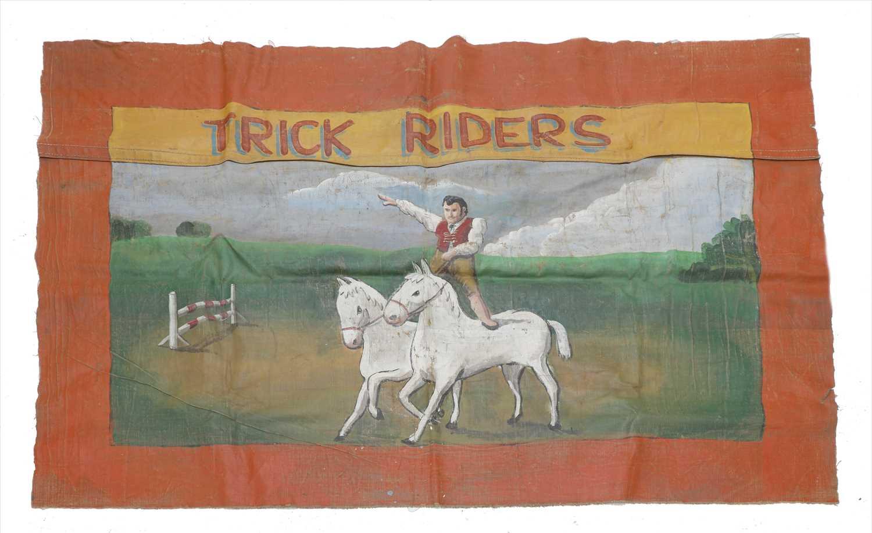 Lot 10-TRICK RIDERS