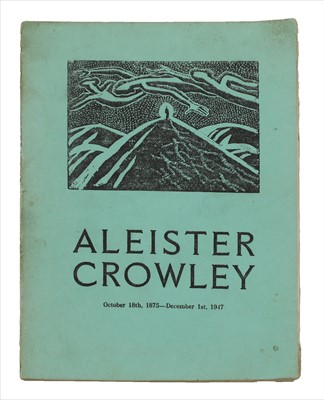 Lot 38-Aleister Crowley (1875-1947)