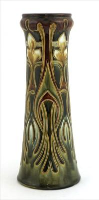 Lot 62 - A Royal Doulton stoneware vase