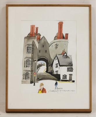 Lot 25-*Paul Hogarth RA (1917-2001)