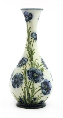 Lot 50-Two William Moorcroft MacIntyre 'Blue Poppy' vases