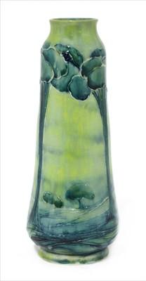 Lot 53 - A William Moorcroft 'Hazeldene' vase