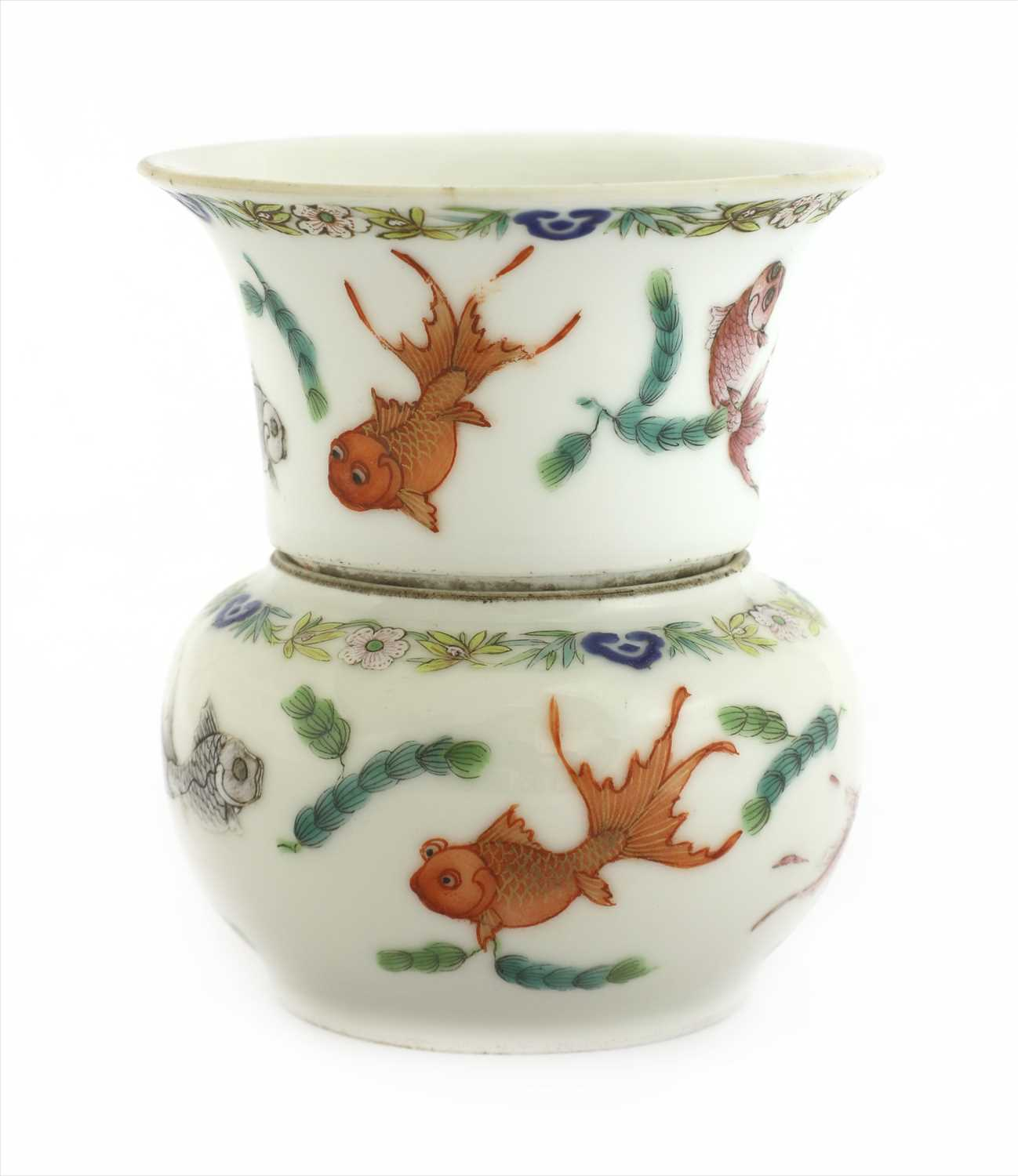 Lot 16-A Chinese famille rose cup and bowl