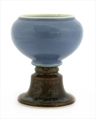 Lot 6-A Chinese porcelain lamp