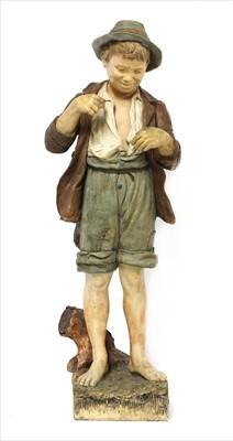 Lot 76 - A Goldscheider terracotta figure