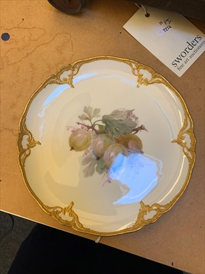 Lot 19-A pair of Berlin porcelain plates