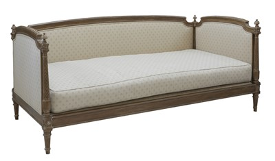 Lot 225 - A Swedish upholstered daybed