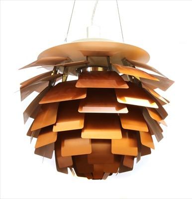 Lot 445-An 'Artichoke' pendant lamp
