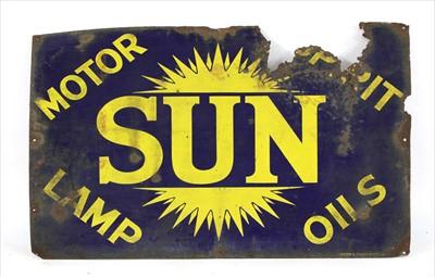 Lot 97 - 'Sun Motor Spirit Lamp Oils'