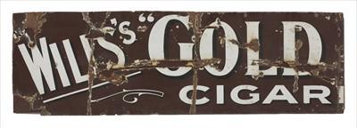 Lot 96 - 'Wills's Gold Cigar'