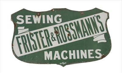Lot 98 - 'Frister & Rossmann's Sewing Machines'