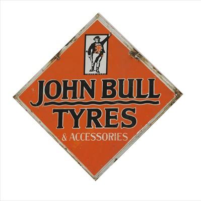Lot 100 - 'John Bull Tyres & Accessories'
