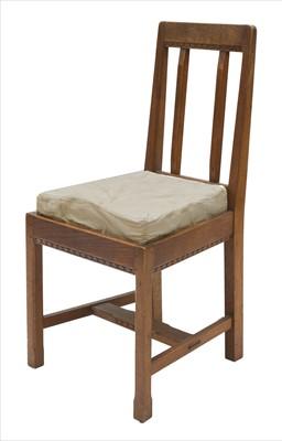 Lot 241 - A walnut side chair
