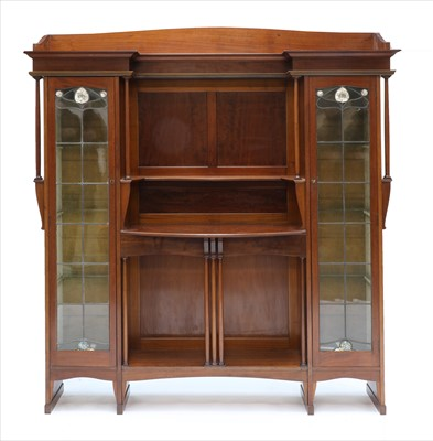 Lot 11-A Liberty mahogany display cabinet