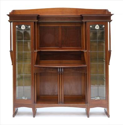 Lot 164 - A Liberty mahogany display cabinet