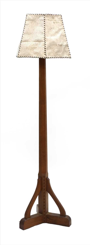Lot 249 - A standard lamp
