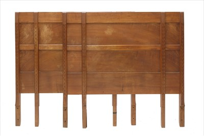 Lot 248 - A pair of headboards