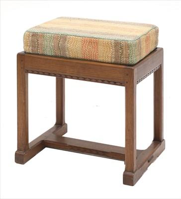 Lot 246 - An oak stool or table