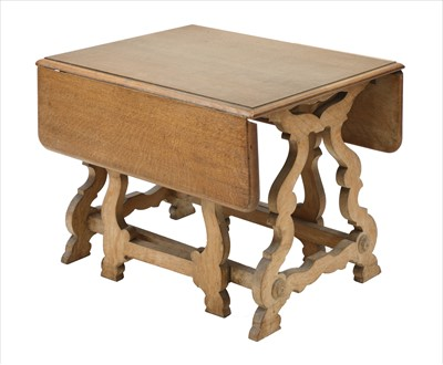 Lot 225 - A small folding table
