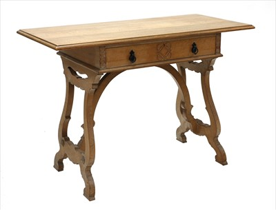 Lot 227 - A work table