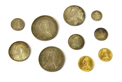 Lot 9-Coins, Great Britain, Victoria (1837-1901)