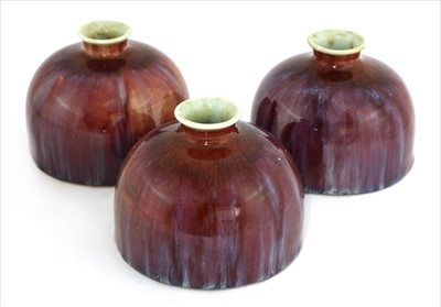Lot 47-Three high-fired water droppers
