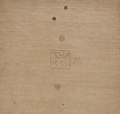 Lot 231 - An oak tray