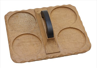 Lot 234 - An oak tray