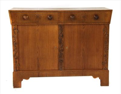 Lot 41-A Viennese oak sideboard